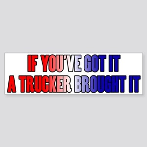 If You've Got It Sticker (Bumper)